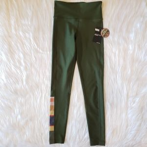 Hurley Olive Green Swim In/Out Leggings UPF 50+ XS